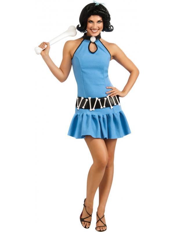 Kostuum Betty Rubble Deluxe Flintstones