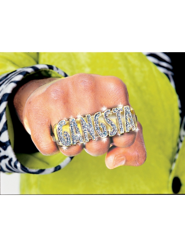 Bling bling gangsta ring
