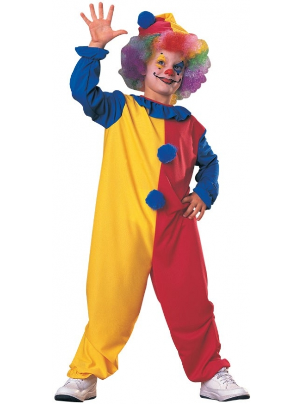 Clown kinder kostuum