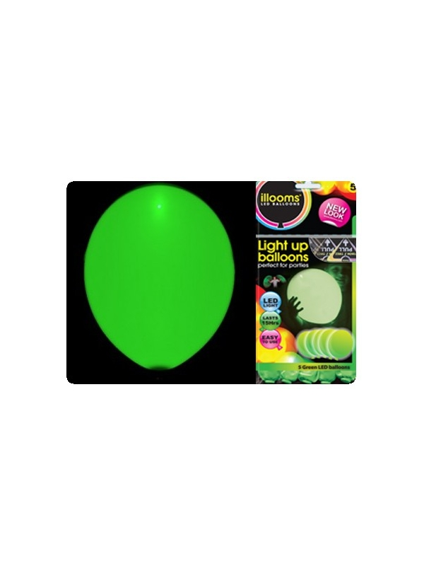 Led ballon illoom balloon groen