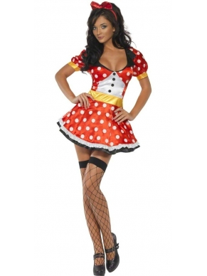 Kostuum sexy Minnie Mouse