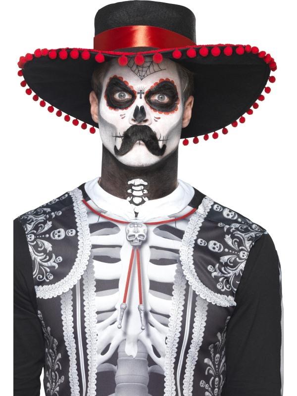 Day of the Dead Senor Bones Schmink