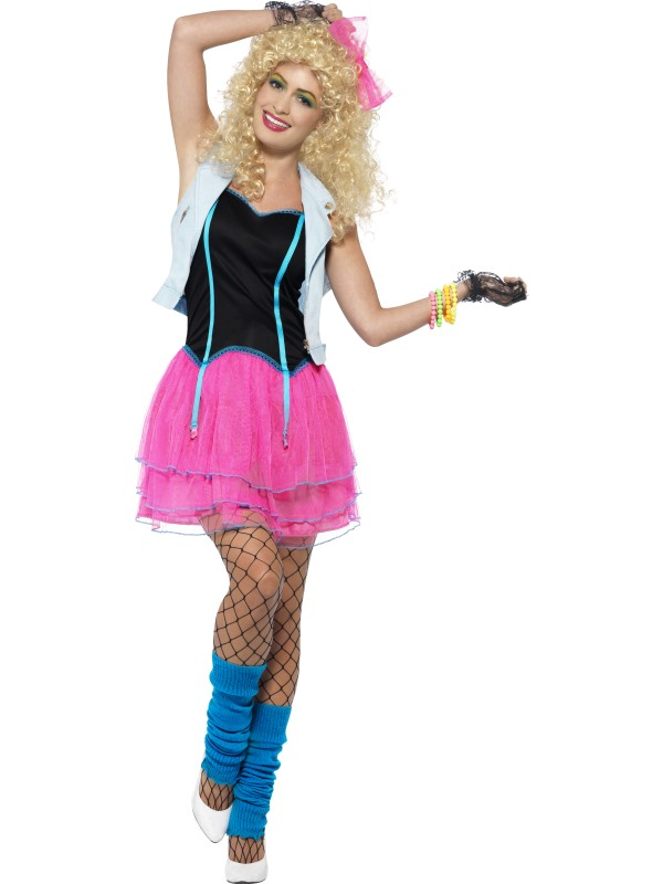 82074f1f31914a Jaren 80 Wild Girl kostuum
