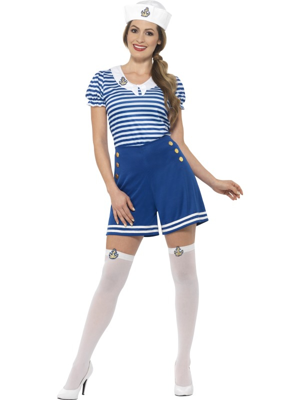 Sailor Girl Matroos Kostuum
