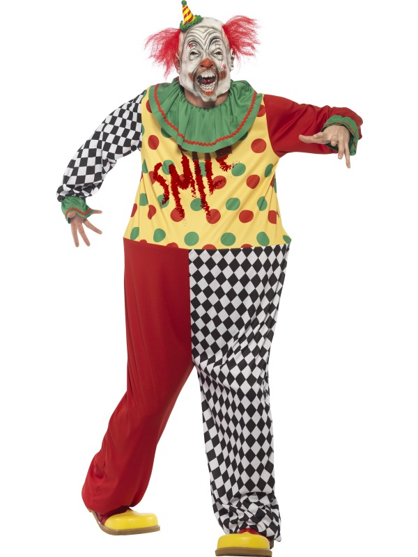 Sinister Horror Clown Kostuum
