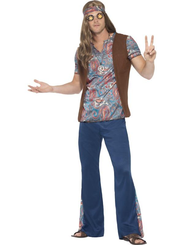 hippie kleding kopen? | goedkope hippie kostuums | funny-costumes.nl
