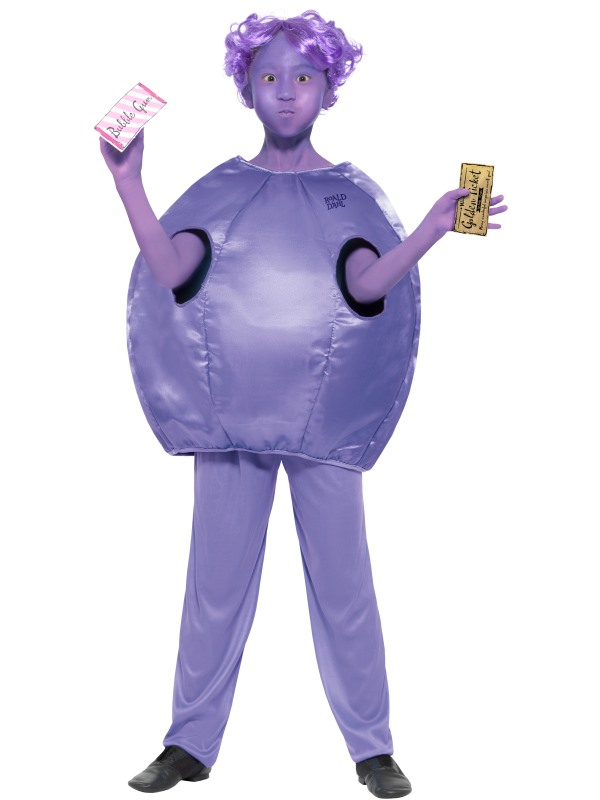 Violet Beauregarde Kinder Kostuum
