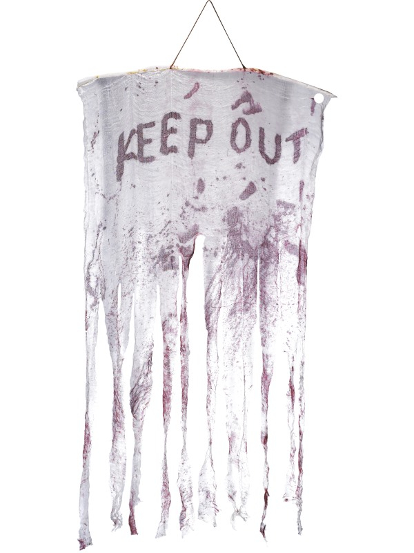 Keep Out Decoratie Hangbord