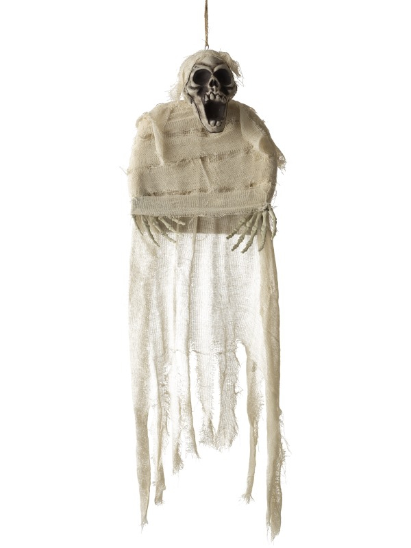 Hangende Mummy Skeleton Decoratie