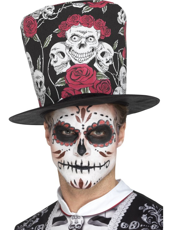 Day of the Dead hoge Top Hoed
