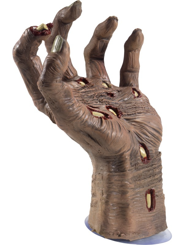 Latex Rotting Zombie Hand