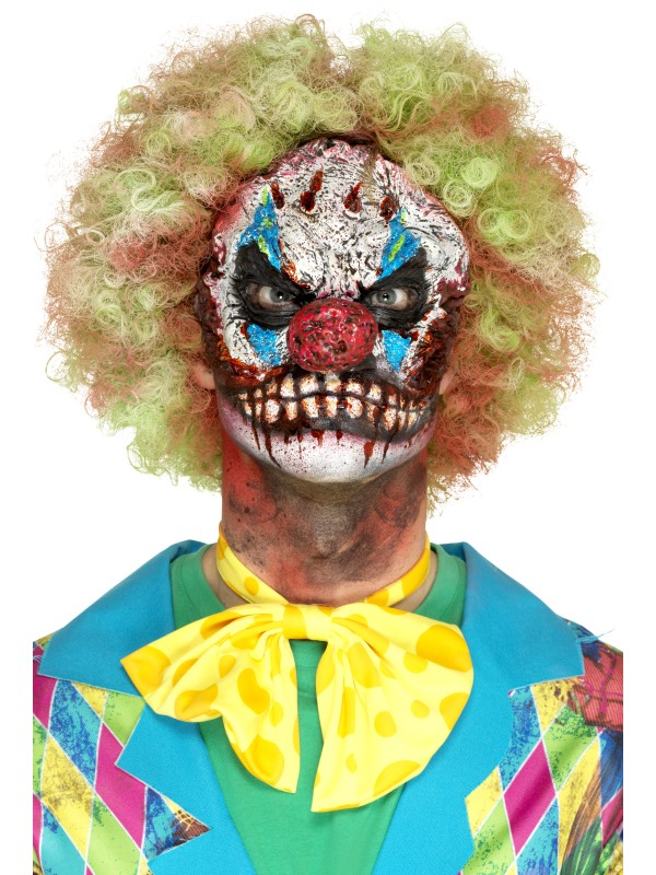Latex Clown masker