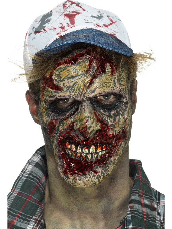 Foam Latex Zombie gezicht Prosthetic