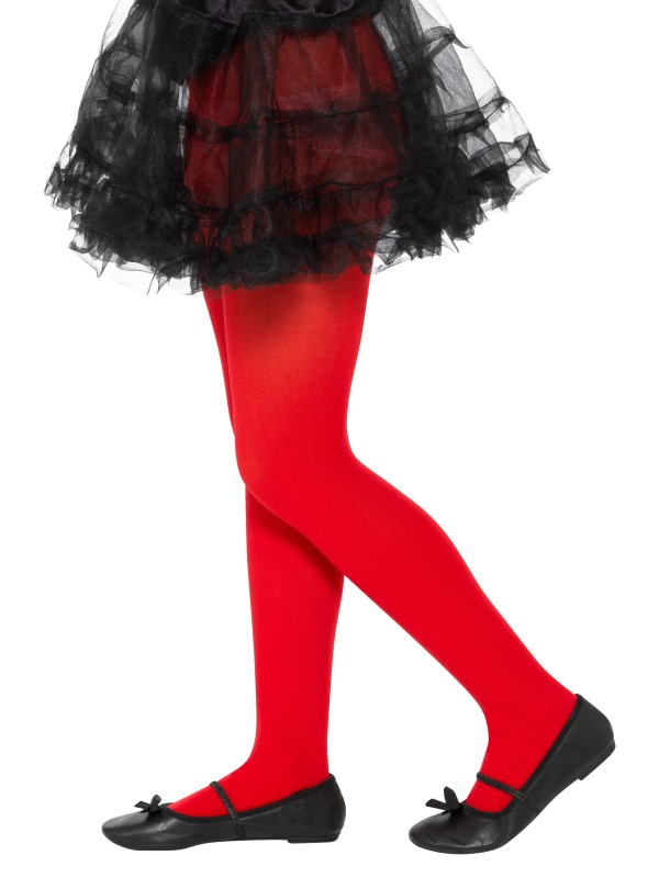 Opaque Tights Rood Kind