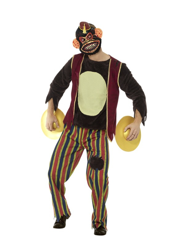 Clapping Monkey Toy Deluxe Kostuum