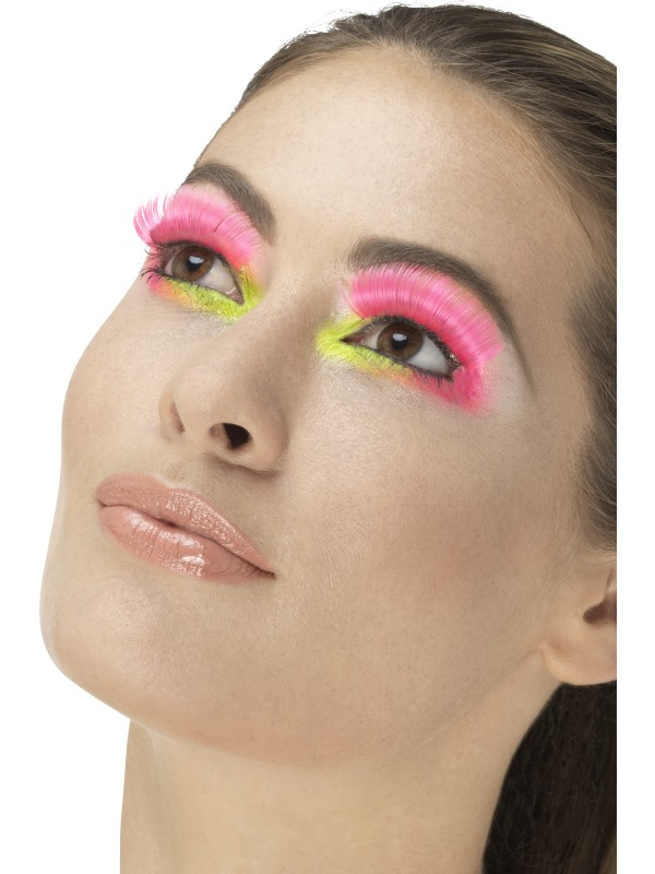 80s Party Wimpers Neon Roze