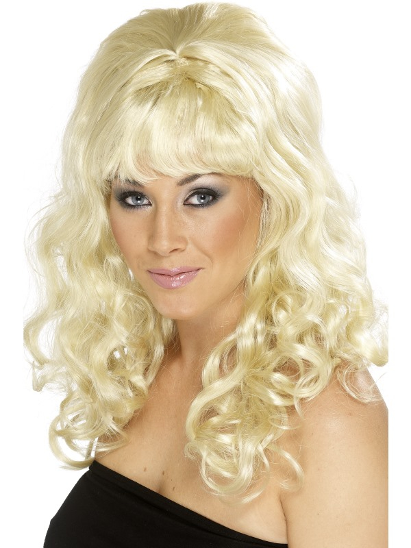 Beehive Beauty Pruik Blond