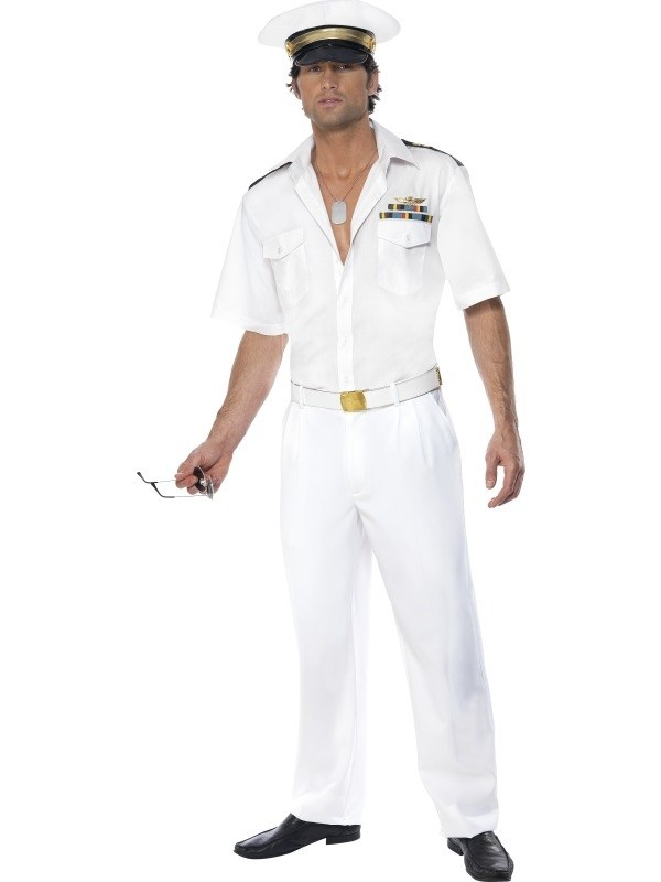 Top Gun Captain kostuum