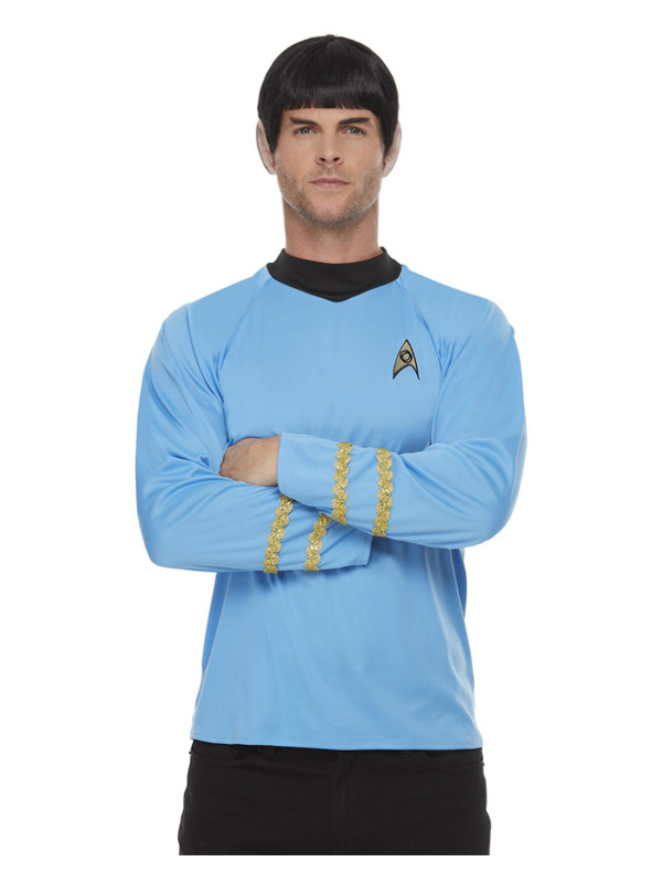 Star Trek, Original Series Sciences Uniform, Top Blue