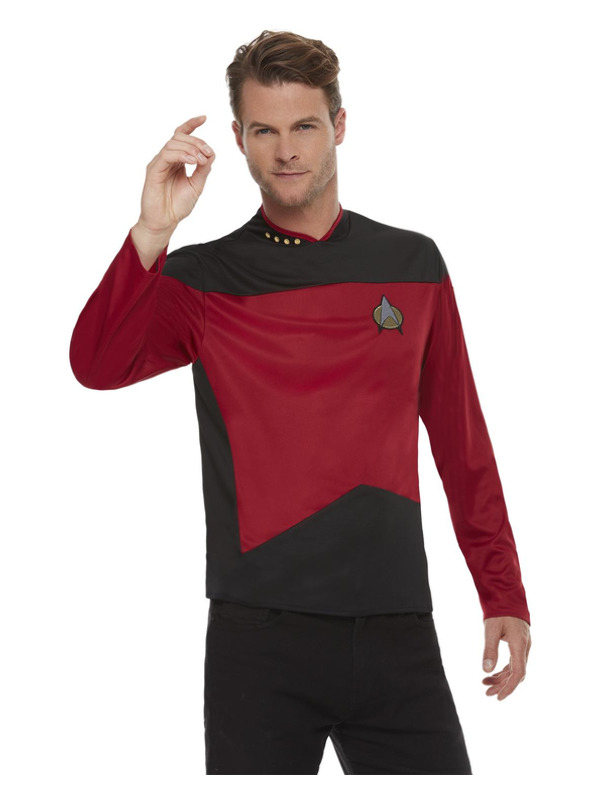 Star Trek, The Next Generation Command Uniform, Top Red