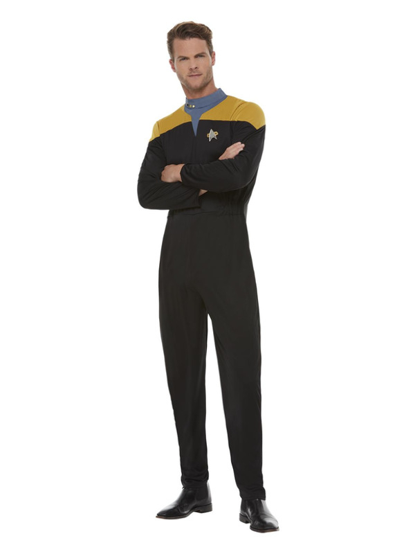 Star Trek, Voyager Operations Uniform, Zwart/Goud