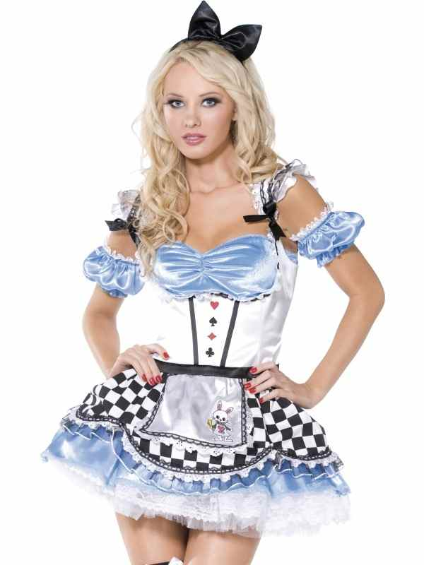 Sexy Alice In Wonderland kostuum