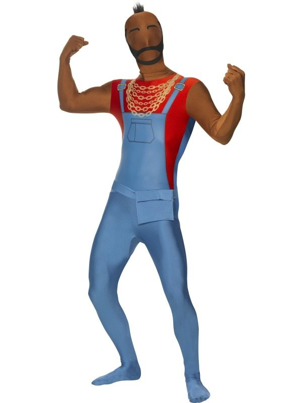Mr. T van The A-team Morph Suit