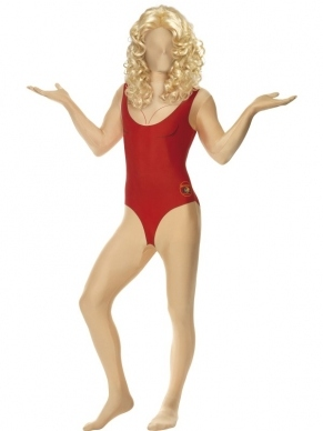 Baywatch badpak Morphsuit second skin