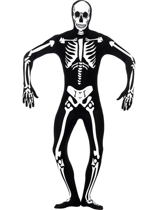 Skeleton Glow in the Dark Morphsuit