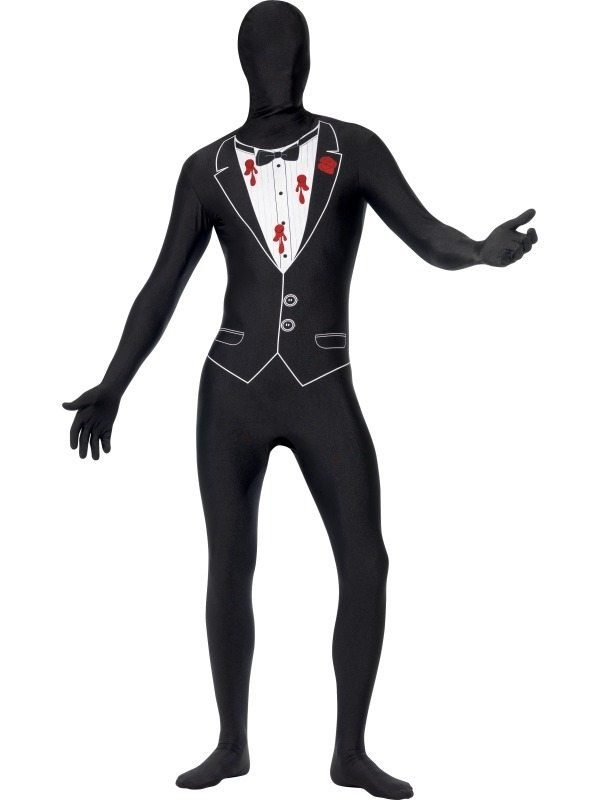 Gangster Morph Suit Second Skin Kostuum