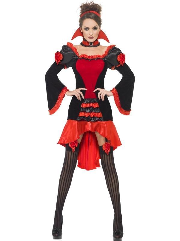 New vampieren Kostuum dames #PG36