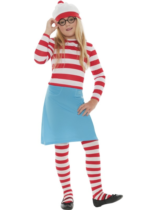 Where's Wally Wenda kostuum meisje