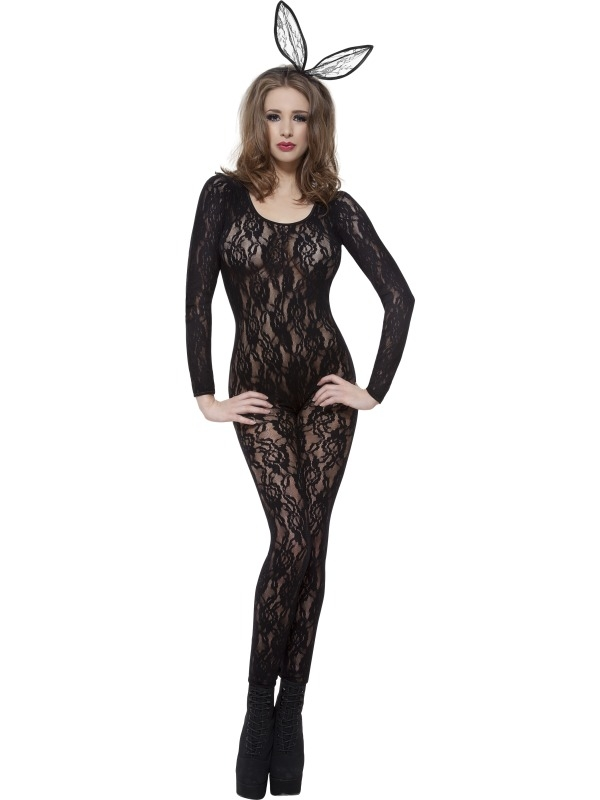 Body Stocking Zwart Kant nr1
