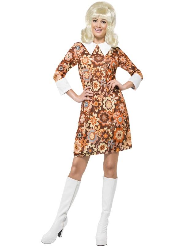 7e803063f0f18a Monochrome Missy jaren 60 dames kostuum.