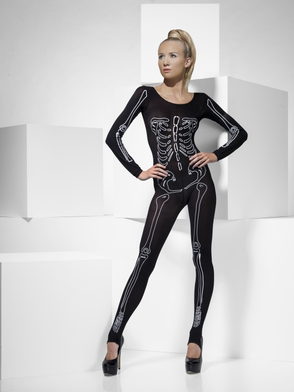 Skeletten Bodysuit