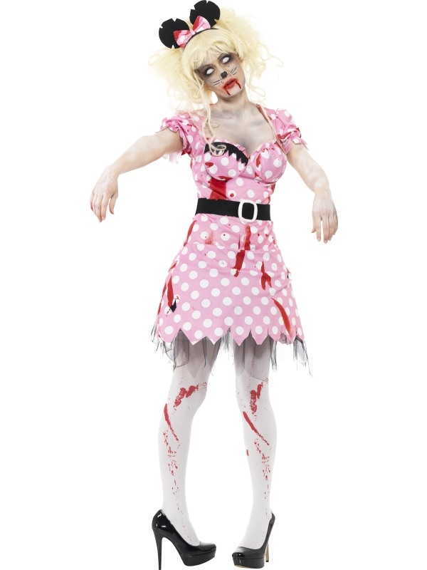 Zombie Minnie Mouse Kostuum