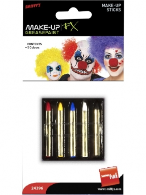 Make-up Krijtjes Schmink 5 colors