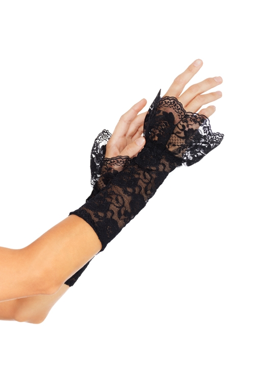 Lace Gauntlet Arm Warmer