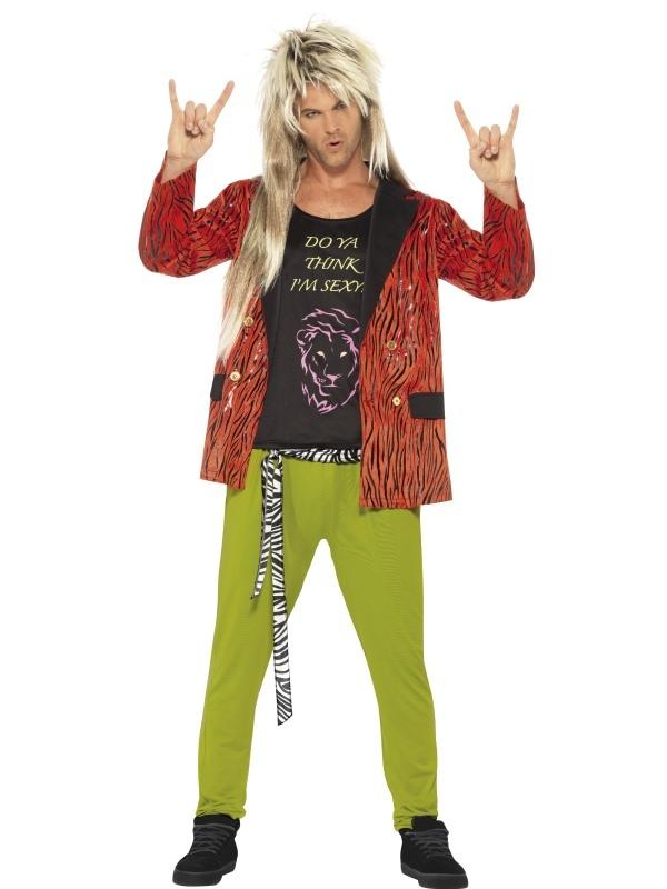 f342b4e1e3300c Jaren 80 Rocker Kostuum