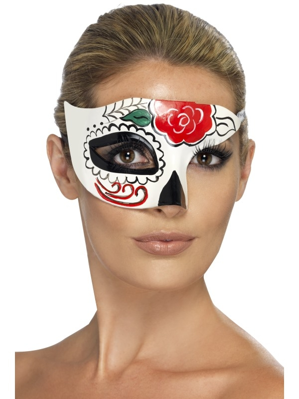 Day of the Dead Oogmasker