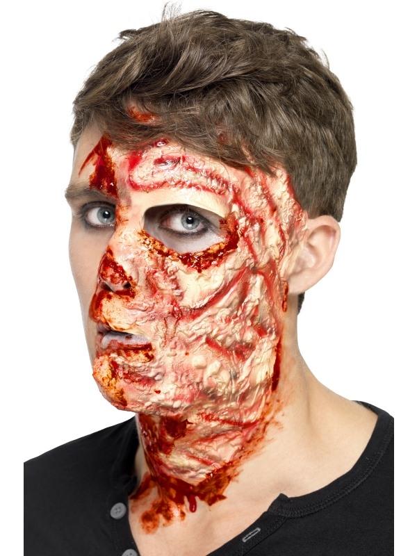 Gezicht Met Brandwonden Masker