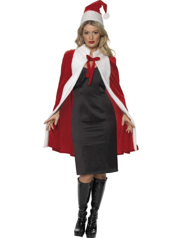 Luxe cape Miss Santa